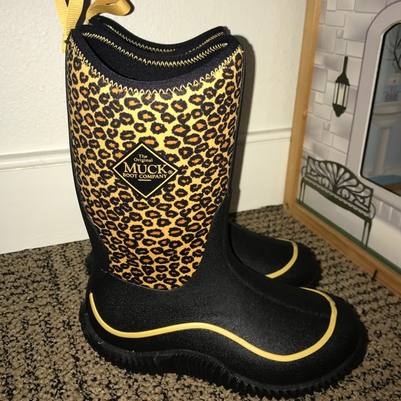 Kids Leopard Hale Muck Boots   Poshmark