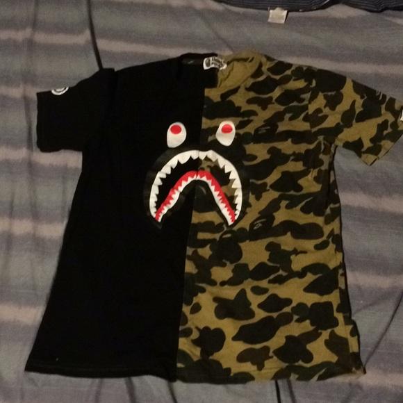 30ce826e Bape Source · Bape Shirts Large Authentic Shirt Poshmark M  5a2cab1f713fdee7e4041d16 Source · T shirt BAPE 2 M black 7521409 T shirt  BAPE Black ...