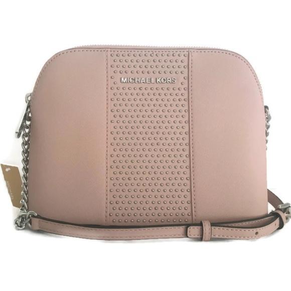 07e7f223897b Michael Kors Bags   Dome Micro Stud Ballet Pink   Poshmark
