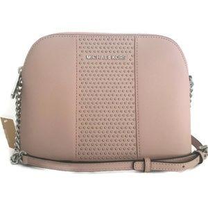 f25615cd06dc Michael Kors Bags - Michael Kors Dome Micro Stud - Ballet Pink