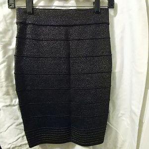 Sparkly Forever 21 Pencil Skirt