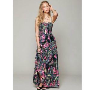 floral floor length fp dress