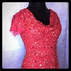 Red Hot Sparkling  Top