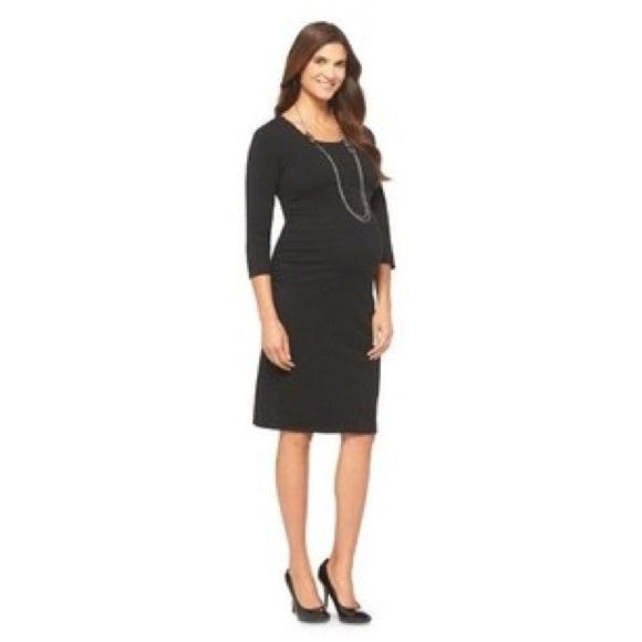 1f6a461d8edb5 Liz Lange for Target Dresses | Liz Lange Maternity Dress Black ...