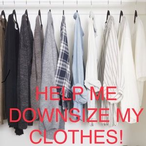 Tops - HELP NEEDED! I'm Trying To Downsize My Clothes