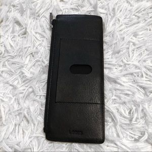 Aubrey under lock & key RFID credit card case
