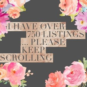 I have over 750 listings... don't miss anything
