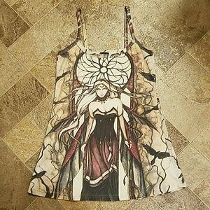 Tops - Unique Mythic / Fairy Woman Tank Top