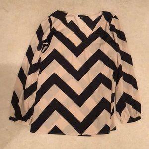 Perfect condition metaphor chiffon blouse black