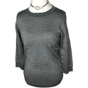New York & Company Silver Sweater. NWT.