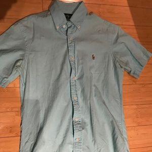 Men's Ralph Lauren Blue Button Down
