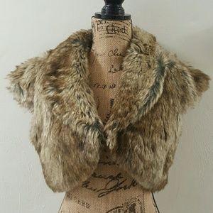 Jackets & Blazers - Faux Fur Vest NWOT