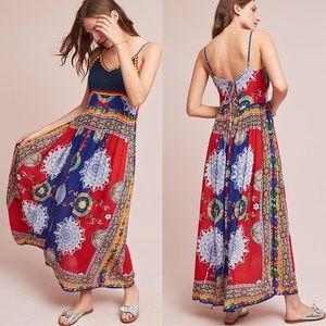 ANTHROPOLOGIE Raga Maxi Dress