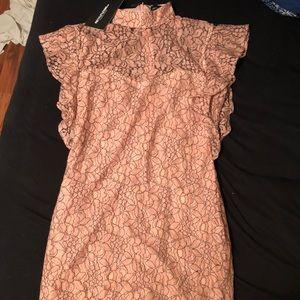 ASOS Prettylittlething Mini Lace Dress