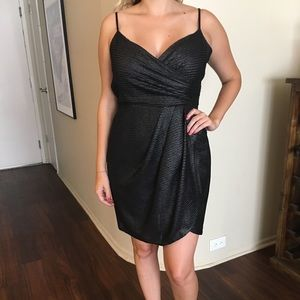UO silence + noise Silver Party Dress