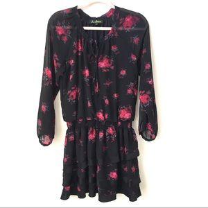 Black Dress w/ Floral Pattern | Sam Edelman