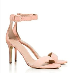 Tory Burch Classic Ankle Strap Sandals Nude