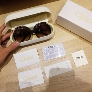 USED AUTHENTIC Chloe Sunglasses with original box