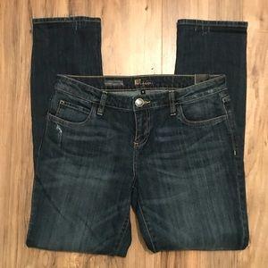 KUT Dark wash relaxed boyfriend jeans