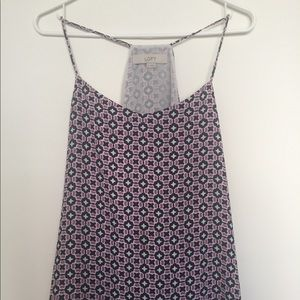 Cute patterned layering tank from Loft