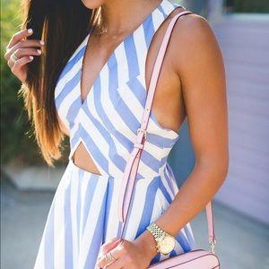 Lovers + Friends striped dress