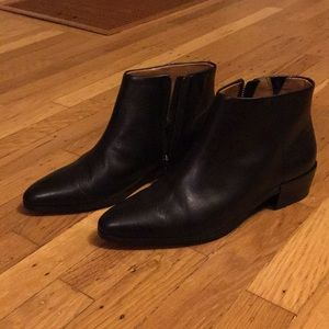 COACH Montana Soft Veg Leather Side Zip Booties