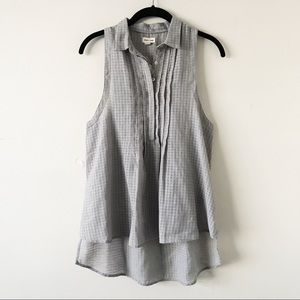 Urban Outfitters Sleeveless Button Down