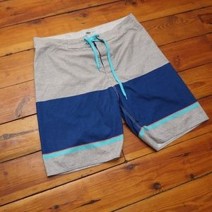 Old Navy Board Shorts (blue/gray)