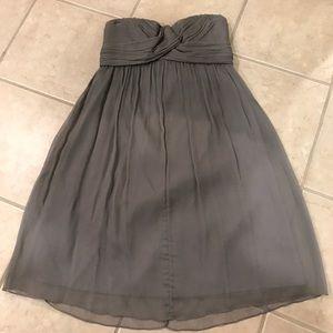 J. Crew Bridesmaid Dress. Size 8.  Gray.