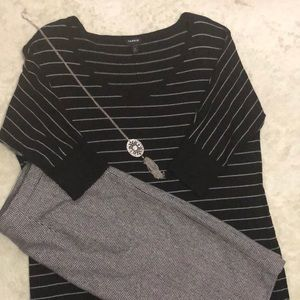 Torrid, Light Sweater material and 3/4 sleeves