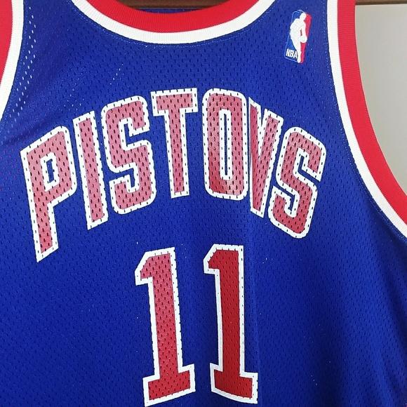 uk availability 186c4 23a55 Isiah Thomas Throwback Basketball Jersey