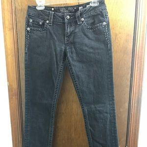 Miss Me Women's Black Skinny Denim Jeans Size 28