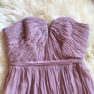 J Crew Nadia Silk Chiffon Dress