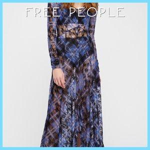 New Free People Rudi Maxi Slip Dress