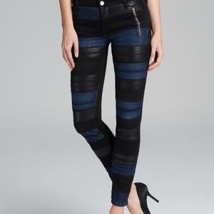 Blank two-toned skinny jeans WORN ONCE