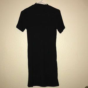 Black high neck - short dress