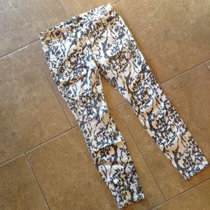 JOE'S JEANS printed high water stretch jeans 25 26