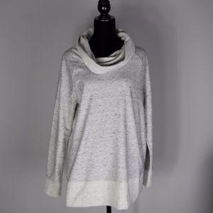 Lou and Grey Cowl Neck Tunic Sweatshirt sz Medium