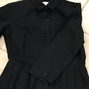 Black GAP knee length dress. Size 8.
