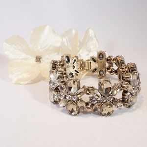 Banana Republic Jeweled Blossoms Bracelet