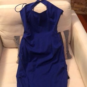 Nicole Miller, Gorgeous royal blue halter dress!