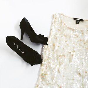 🎄Silk Sequin DKNY Donna Karen New York Cami🎄