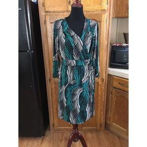 Lane Bryant Wrap Style Dress Size 14/16