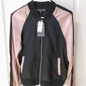 Tilly's silk bomber jacket