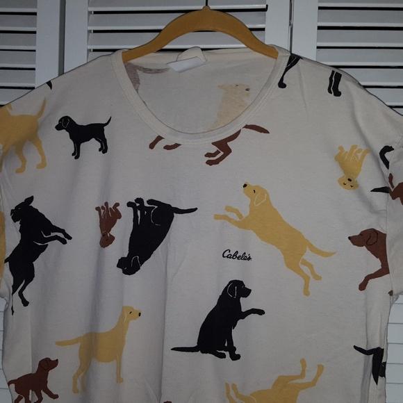 Cabela s Other - Nightgown Sleep Shirt Cabela s Labradors ... 4e58f5006