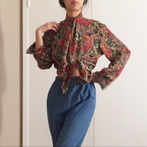 Vintage blouse by Alfred Dunner.