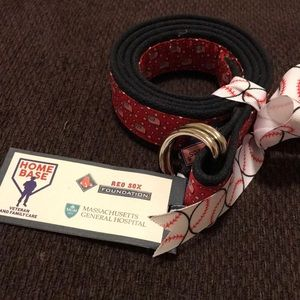 Vineyard Vines ladies belt American flag patriotic