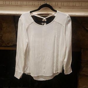 NWOT Zara Basic Long Sleeve Top