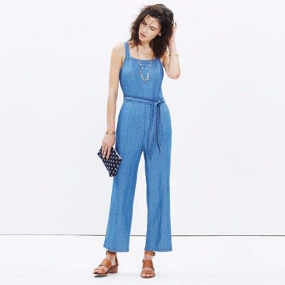 d94fe7ea6f7 Madewell Pants - MADEWELL CHAMBRAY MURALIST JUMPSUIT ~ 2 ~ SPRING!