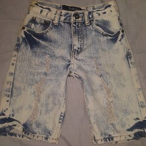 Other - Distressed denim shorts